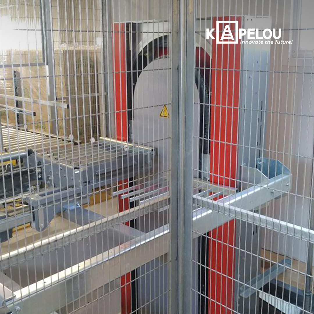 Automation of production and finished goods warehouse - 0 - kapelou.com