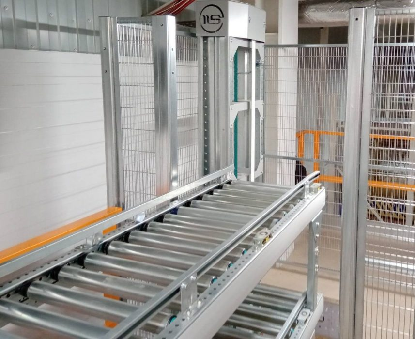 Вертикальный конвейер для ящиков - 8 - kapelou.com