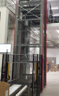 Вертикальный конвейер для палет - 8 - kapelou.com