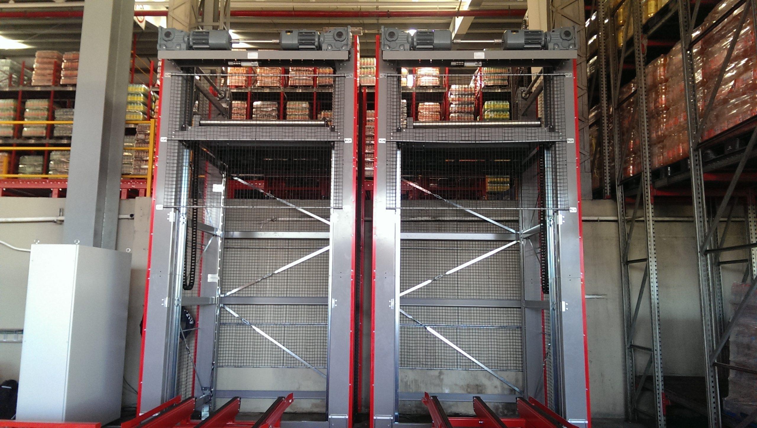 Вертикальный конвейер для палет - 9 - kapelou.com