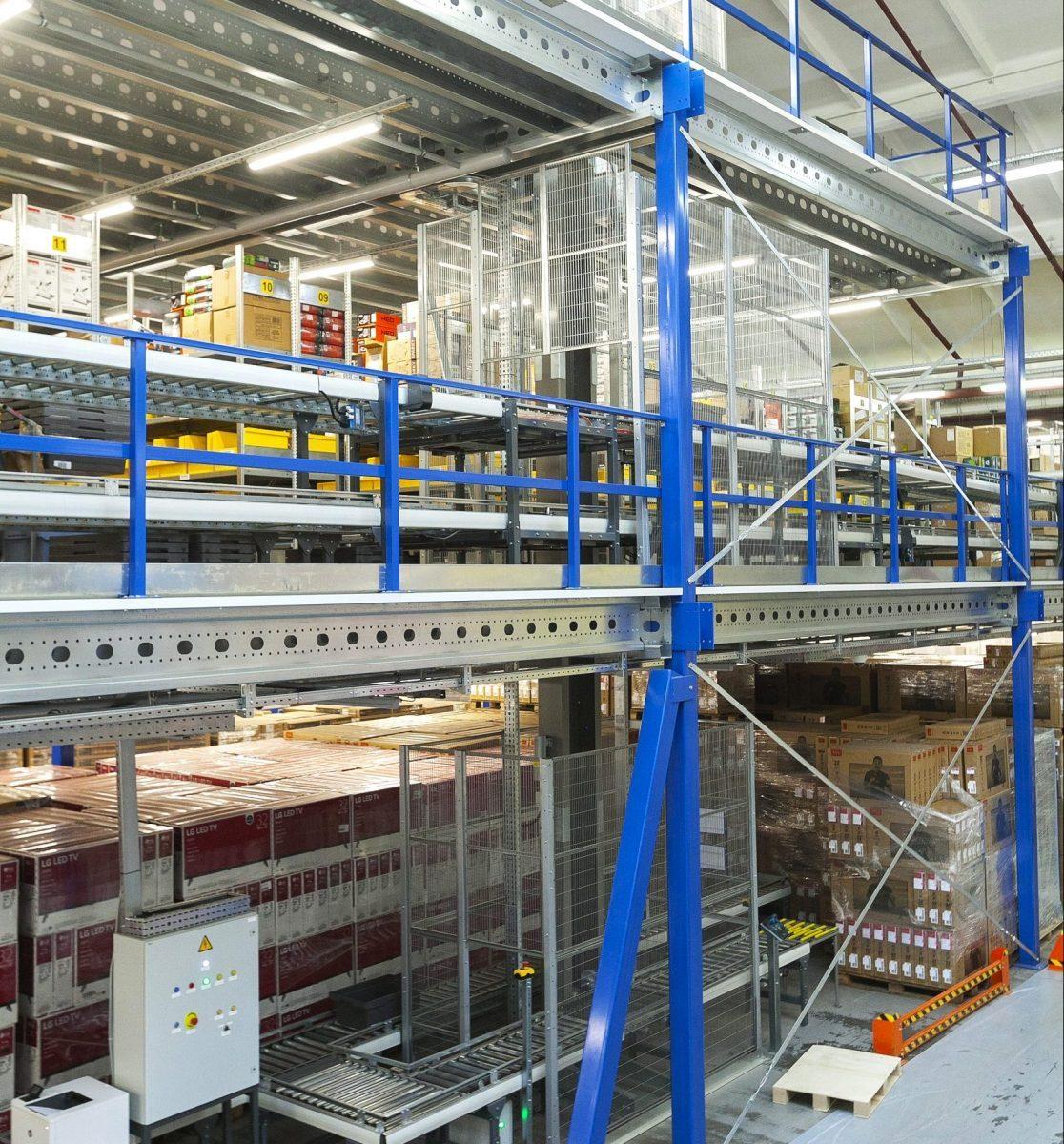 Warehouse platforms and mezzanines - 8 - kapelou.com