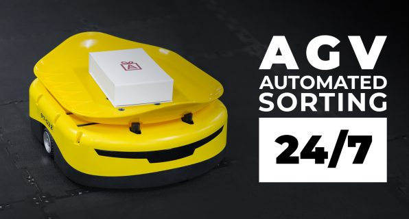 AGV. How to set up automatic sorting in the warehouse 24/7? - 7 - kapelou.com