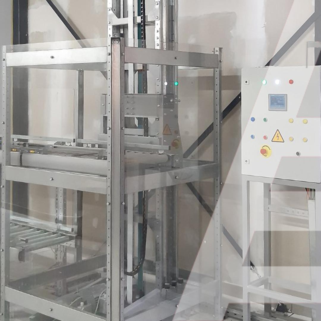 6 метров вертикального конвейера в ЦВЗ для перемещения 2000 коробок в час - 3 - kapelou.com