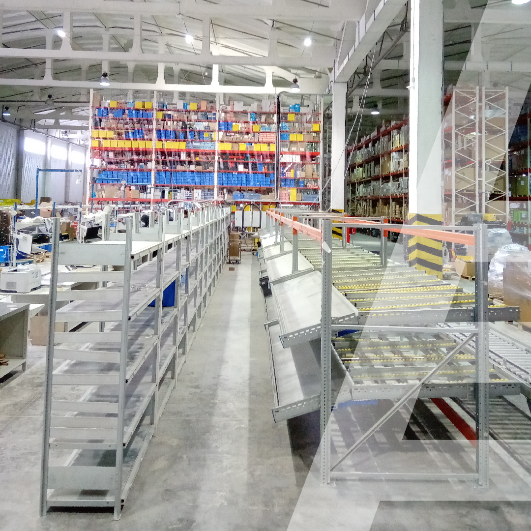Moving a warehouse and increasing storage space for an auto distributor - 0 - kapelou.com