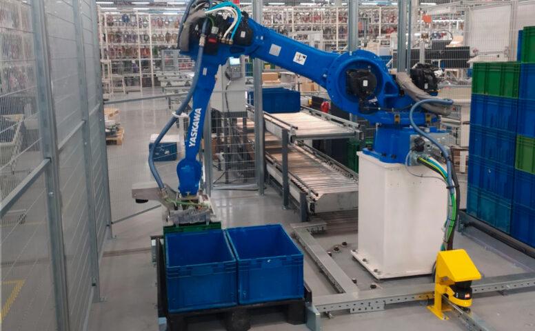 Автоматизированная двухуровневая конвейерная система и робот-манипулятор - 20 - kapelou.com