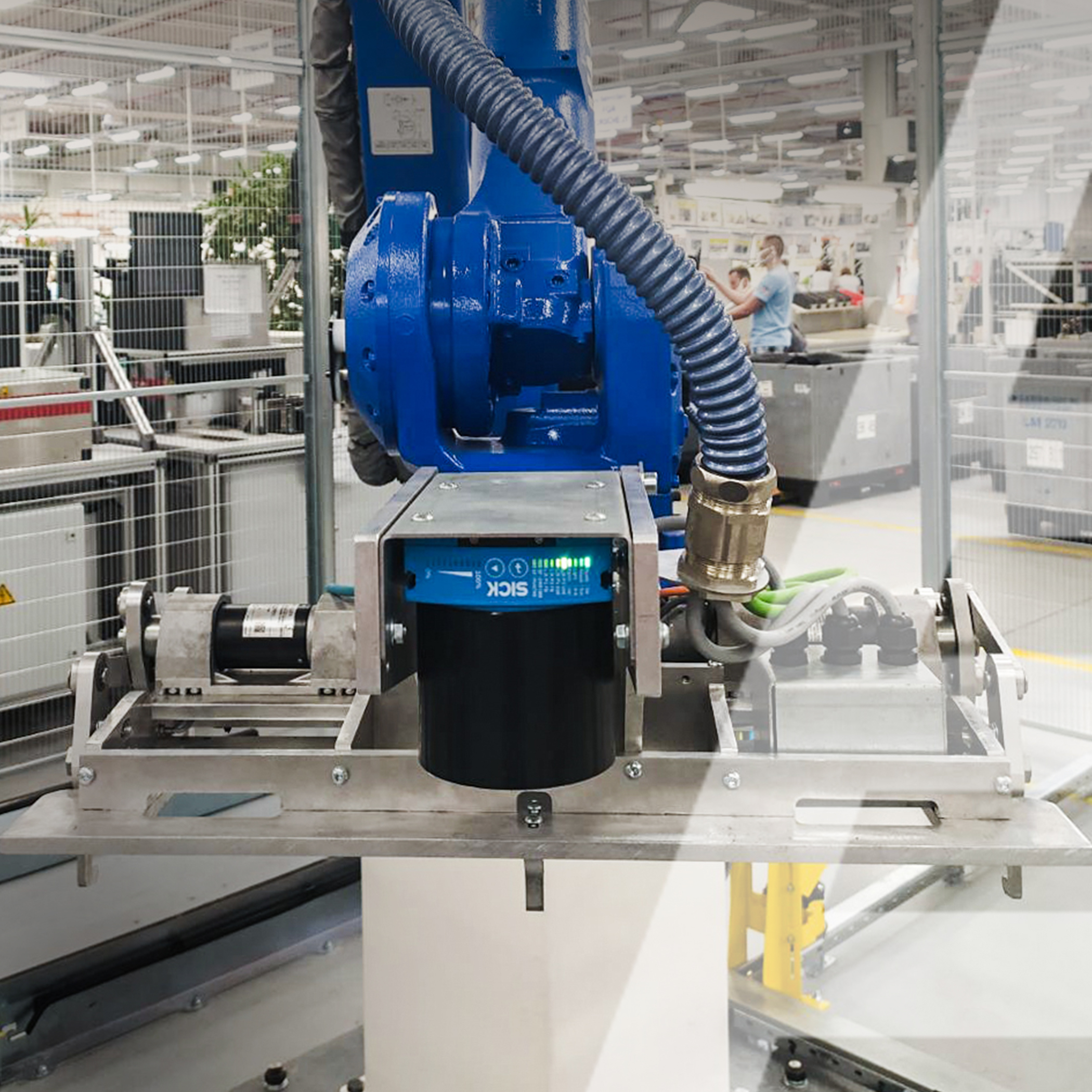 Автоматизированная двухуровневая конвейерная система и робот-манипулятор - 2 - kapelou.com