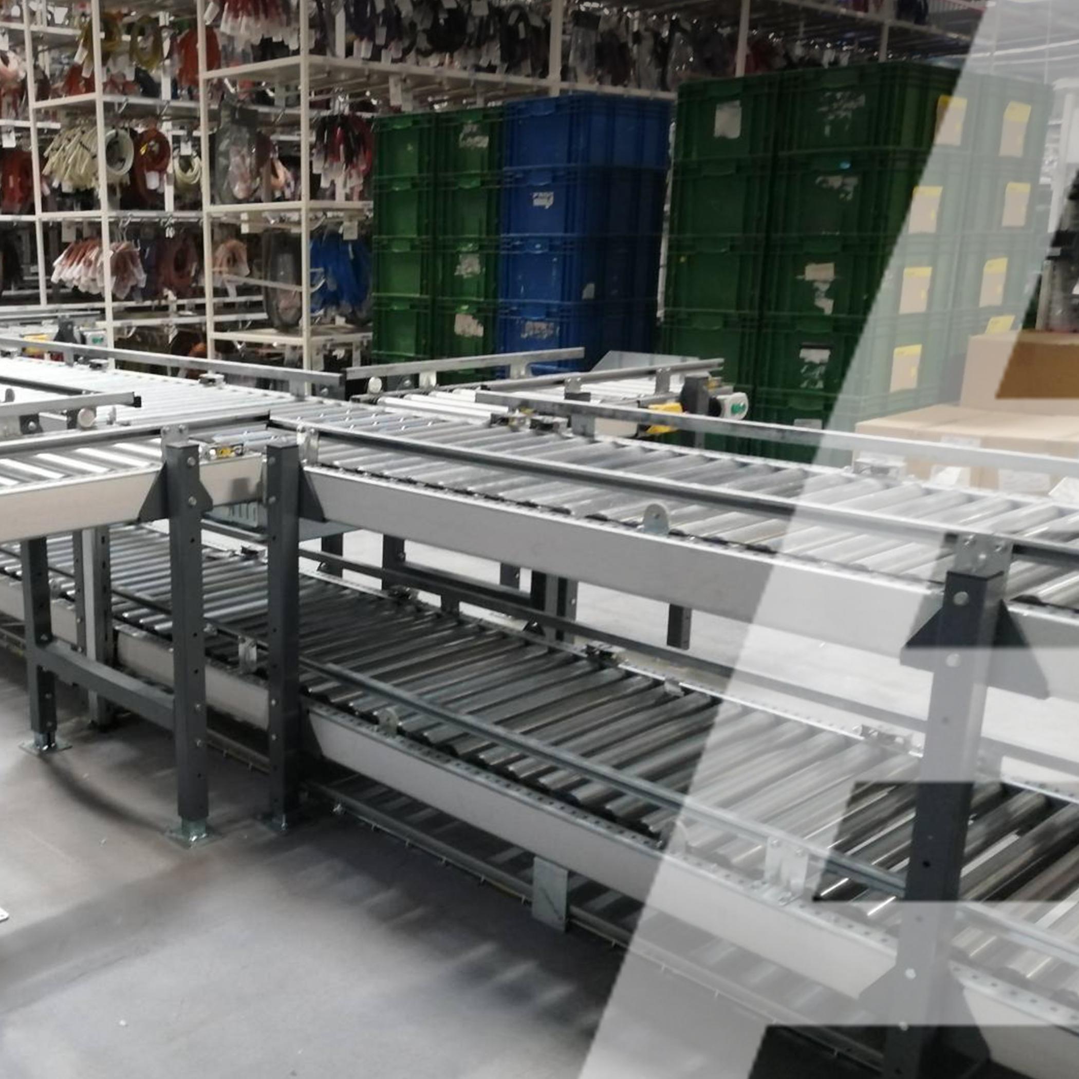 Автоматизированная двухуровневая конвейерная система и робот-манипулятор - 4 - kapelou.com